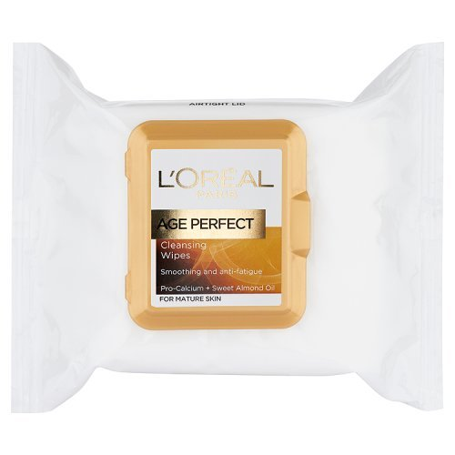 L'Oreal Age Perfect Cleansing Wipes for Mature Skin -