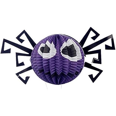 Bar decoraciones para Halloween/Jack-o-Lantern/ bat-spider linterna-A