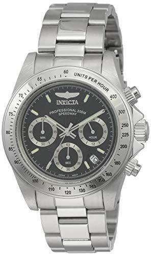 Invicta 9223 Speedway Unisex Uhr Edelstahl Quarz schwarzen Zifferblat - Replica Invicta Watches