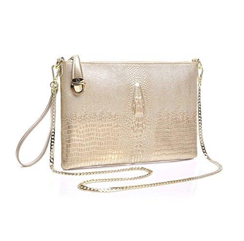 Strawberryer Ladies Evening Clutch Bags Europe Et Les Etats-Unis Mode Shoulder Diagonal De Grande Capacité Décoration Banquet Champagne
