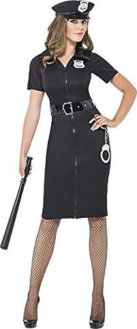 Cop Costumes Pour Les Costumes Des Femmes - Smiffys - SM43864/L - Costume Femme Policier