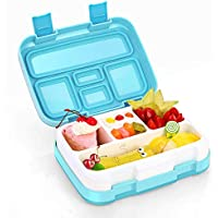 Jelife Bento Box Kids, Kinder Lunchbox, Lunchboxen für Kinder mit 5 Unterteilungen Auslaufsicher, Brotdose Ideal für Schule, Picknicks, Reisen