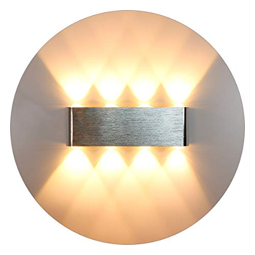 KAWELL Moderno Luz de Pared LED Apliques de Pared Aluminio Lámpara de...