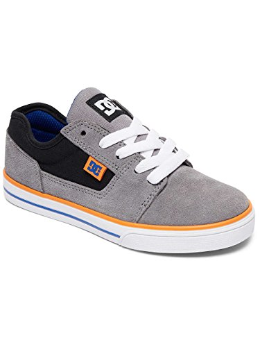 DC Shoes Tonik, Sneakers Basses Garçon Gris