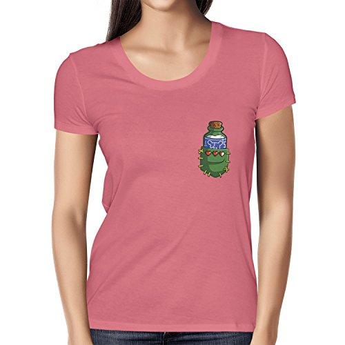TEXLAB - Potion in a Pocket - Damen T-Shirt Pink
