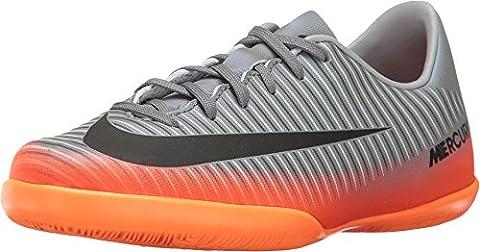 Nike Unisex-Kinder Jr Mercurialx Victory VI CR7 IC Fußballschuhe, Grau (Cool Grey/Mtlc Hematite-Wolf Grey-Total), 38.5