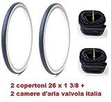 Kit 2 copertoni Piu 2 camere 26 1 3/8