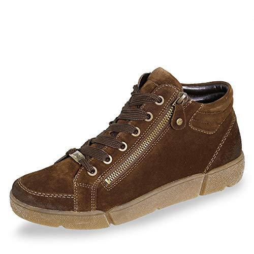 ARA Damen ROM 1214435 Hohe Sneaker, Braun (Setter 07), 39 EU
