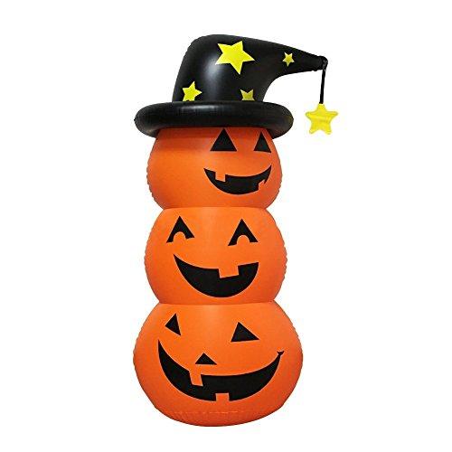 korationen-Kürbis aufblasbare Roly-Poly Dekoration für die Fee (Aufblasbare Outdoor-halloween-dekoration)