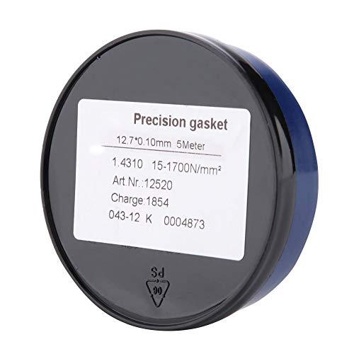 Edelstahl Precision Spacer Washer Dichtung 5M Länge * 12.7Mm Breite für elektronische Geräte, Formenbau Reparatur, Präzisionsmaschinen, Messwerkzeug, Hardware, etc.(0.1 * 12.7 * 5米) (Formenbau-material)
