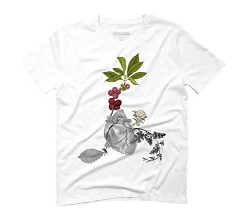 GROWING ROOTS Men's Graphic T-Shirt - Design By Humans White