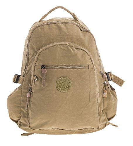 Big Handbag Shop, Borsa a zainetto donna Backpack Style 1 - Camel