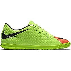 Nike Hypervenom X Phade Iii Ic, Zapatos de Futsal para Hombre, Verde, Grün (Elctrc Green/Black-Hyper Orange-Volt), 42 EU