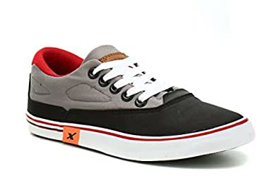 Sparx Men's BKGY Sneakers-6 UK/India (39.33 EU) (SC0322G)
