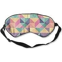 Comfortable Sleep Eyes Masks Colored Geometric Printed Sleeping Mask For Travelling, Night Noon Nap, Mediation... preisvergleich bei billige-tabletten.eu
