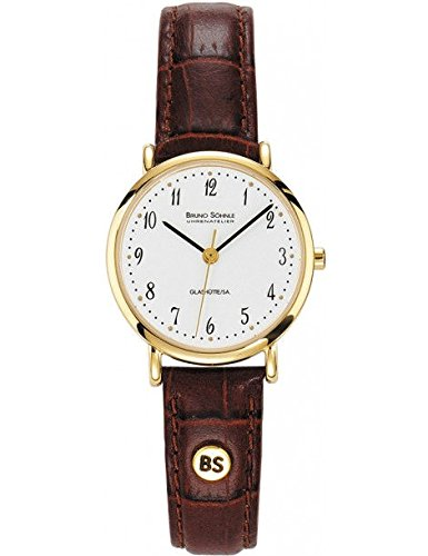 Bruno Soehnle Women's Quartz Watch Analogue Display and Leather Strap 17-33045-921