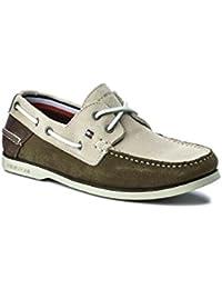 Nã¡Uticos Tommy Hilfiger Classic Bicolor  Zapatos de moda en línea Obtenga el mejor descuento de venta caliente-Descuento más grande