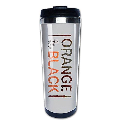 Mensuk Orange Is The New Black Coffee Mugs/Travel Mugs