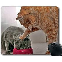 Yanteng Cojín de ratón, cojín de ratón del Gato del Humor, Estera del ratón