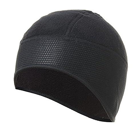 4ucycling chaud casquette polaire Casque bonnet coupe-vent Skull Casquette Noir
