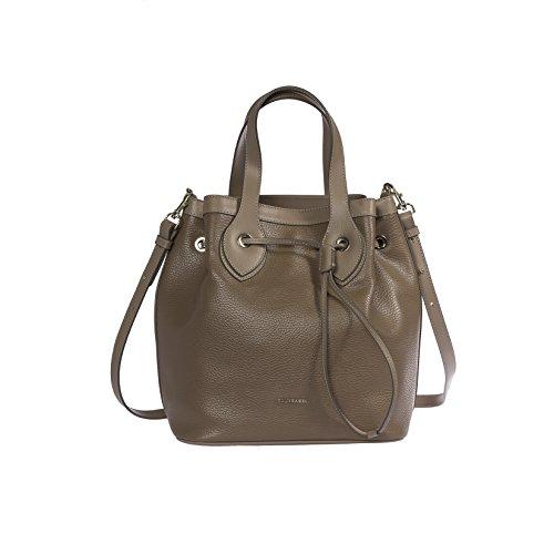 Trussardi femmes sac à main, sac fourre-tout en Dollar véritable et cuir lisse, 100% Calf - 26x29x19 cm Beige