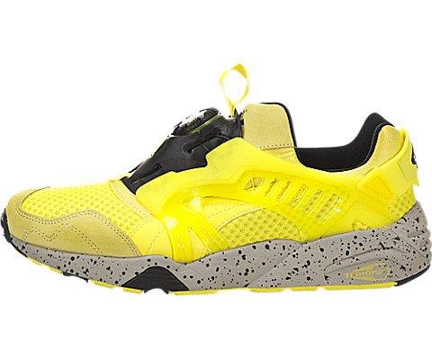 Puma Disc Blaze Mesh Evolution da uomo,, giallo (Fluro Yellow), 43,5 EU