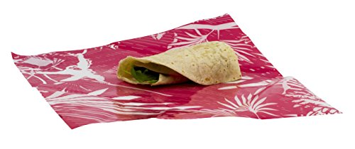 WRAPEAT REUSABLE FOOD SUB & TORTILLA WRAP PACK-X3 MULTIPACK FOR LUNCH BOXES AND LUNCH BAGS by WRAPEAT (Bag Quadratische Lunch Große)