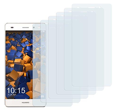 mumbi Schutzfolie kompatibel mit Huawei P8 Lite 2015 Folie klar, Bildschirmschutzfolie (6x)