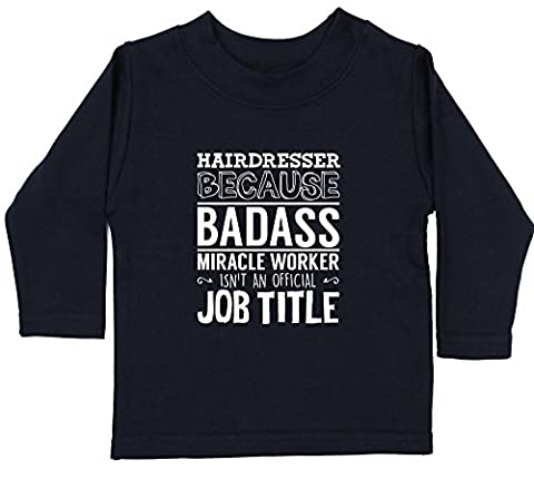 Hippowarehouse Hairdresser because badass miracle worker isn't an official job