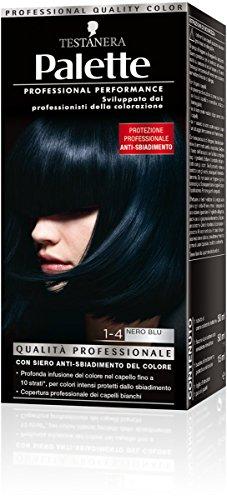 teinture pour les cheveux 1-4 noir blu