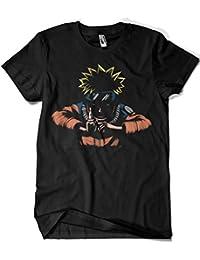SERAPHY Unisex Camiseta Naruto Top Uchiha Sharingan Hokage Ninja Camiseta