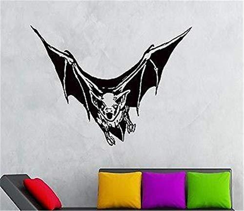 Vinyl Sprichwort Wand Kunst inspirierend Zeichen Wand Zitat Dekor Bat Vampire Nights Animals beängstigend gruselig