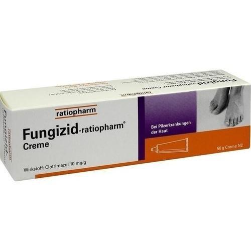 Fungizid-ratiopharm Creme, 50 g