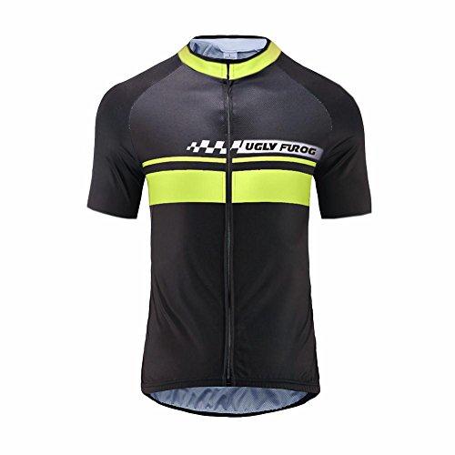 Uglyfrog Magliette MTB Bicycle Uomo Mountain Bike Manica Corta Camicia Top Abbigliamento Ciclismo Estate Style HIZD06