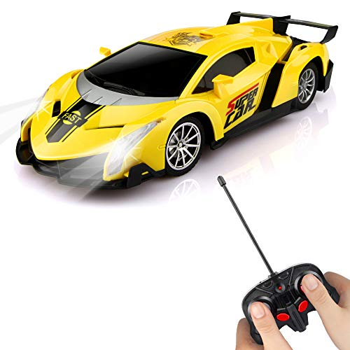 Epoch Air Remote Control Car, Kids RC Car Toys for Boys Girls 1/24 Scale Model Car Radio Controlled Vehicle Electronic Sports Racing Stunt Car Gifts Gadget Indoor Outdoor Games