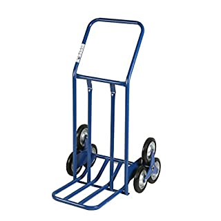 Archimedes HT Trolley, Large Volumes for Stairs, Metal, Blue, 60 x 80 x 118 cm