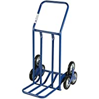 Archimede HT - Carro de grandes volúmenes para escaleras, metal, azul, 60x 80x 118cm