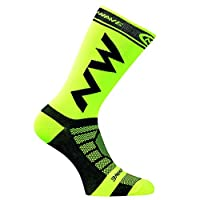 HIPENGYANBAIHU Breathable Adult Men Compression Long Socks Warm Football Socks Basketball Sports Anti Slip Cycling Climbing Running Socks green,green