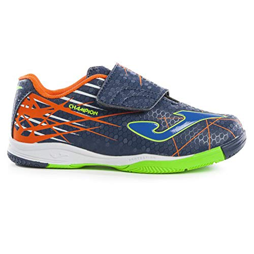 Joma Scarpe Bimbo Calcetto Champion JR Indoor 903 Navy