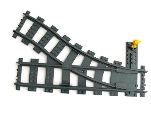 Preisvergleich Produktbild LEGO ® CITY - Eisenbahn RC - Weiche 9 Volt - rechts - aus SET 4565