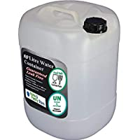 h32 2 x 10 Litre Plastic Water Container Food Grade Approved