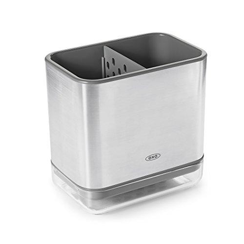 OXO Good Grips Utensilienhalter für die Spüle, edelstahl Oxo Good Grips Sink