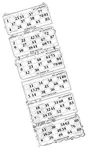 Party Stuff Classic Tambola Theme Tambola Housie - Classic Vertical Background - Classic Tambola (100 Cards) | Kitty Games