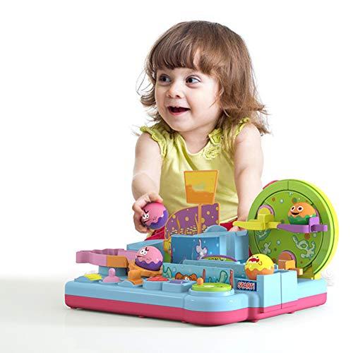 DHYBDZ Babyspielzeug Intelligenzentwicklung Eltern-Kind-Interaktion Trackballs Unterwasser Großer Abenteuerspielzeugsatz für Weihnachtsgeburtstags - Große Trackball