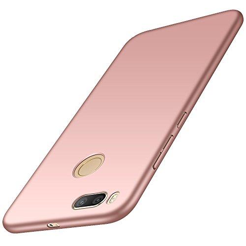 anccer Xiaomi Mi A1 Hülle, [Serie Matte] Elastische Schockabsorption und Ultra Thin Design für Xiaomi Mi A1 (Glattes Rosen-Gold)