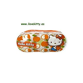 Portatodo transparente Hello Kitty 1 unidad