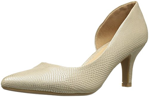 CL By Laundry Estelle Synthétique Talons Snake Gold