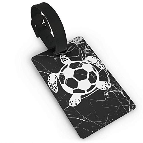 Soccer Sea Turtle Luggage Tag Travel Suitcases Bag Tags