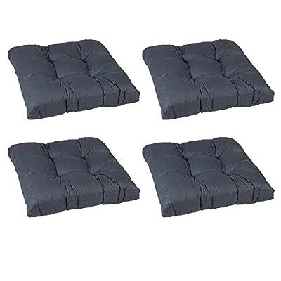 beo Einfachkissen LKS AU91 Lounge Sitzkissen, circa 60 x 60 cm, 13 cm Dick, anthrazit von HVI - Gartenmöbel von Du und Dein Garten