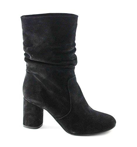 DIVINE FOLLIE 2412 nero scarpe stivaletti donna tacco 39